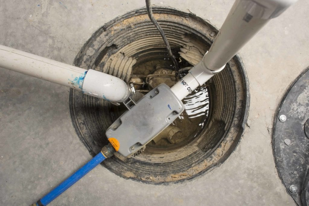 sump pump installation in New York by Jones Services